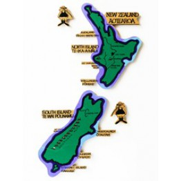 Map of Aotearoa/New Zealand-8 piece magnetic