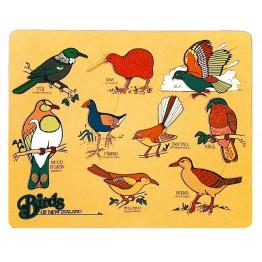 Birds of New Zealand puzzle