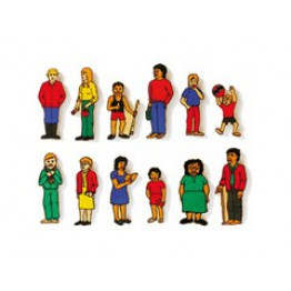 Families 13 piece magnetic-100% handmade