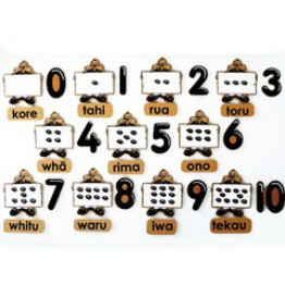 Te Reo Maori counting set-33 piece magnetic
