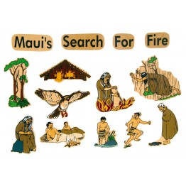 Maui search for fire-14 piece magnetic