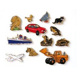 The lost bird-12 piece magnetic story