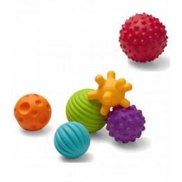 Infantino multi-textured ball set