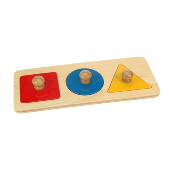 Three shapes puzzle
