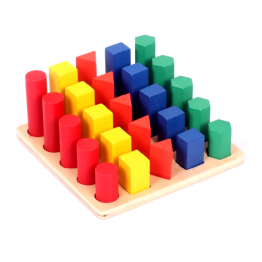 Geometric shape progression