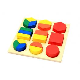 Geometric shape sorter
