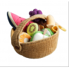 Fabric fruit basket