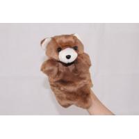 Brown bear hand puppet