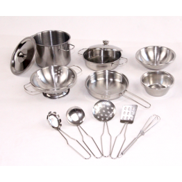 13 pcs Stainless steel cooking set