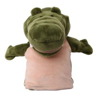 Open-mouth alligator hand puppet