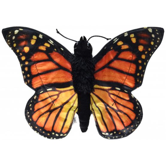Large monarch butterfly hand puppet