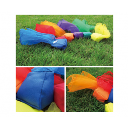 Bean bag with scarf set of 6