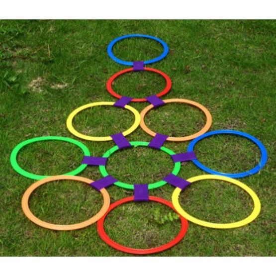DIY hopscotch set