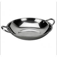 Stainless steel play wok