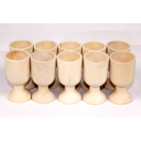 Egg cups with stand pack of 10