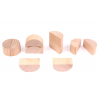 Semi-cylindrial pack of 10
