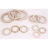 Wooden rings pack of 12
