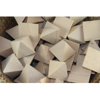 Four sided pyramid pack of 10