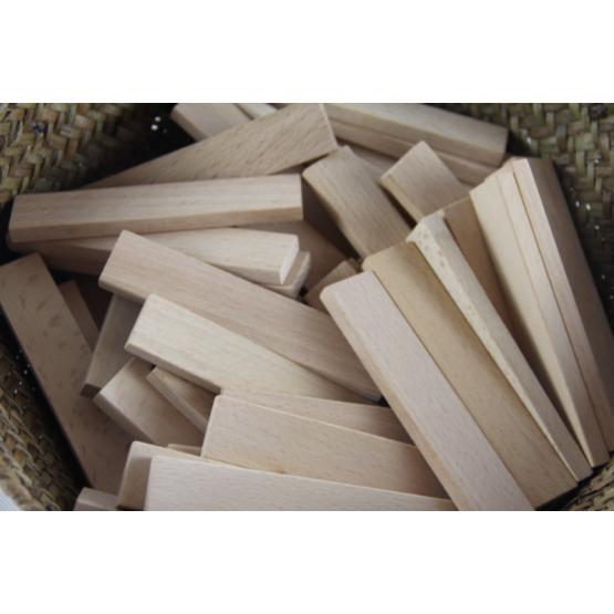 Wooden building blocks 50pcs