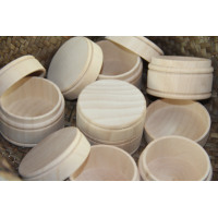 Wooden jewellery box set of 2