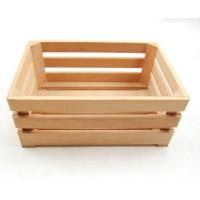 Wooden baskets set of 2