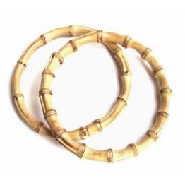 Bamboo rings set of 2
