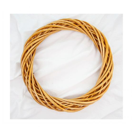 Hand-woven rattan ring 330mm