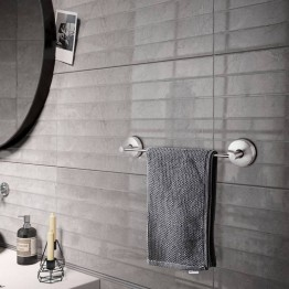 Suction cup towel bar Stainless steel