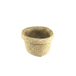 Hand-woven nesting basket