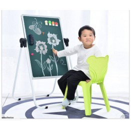 360°C rotatable U shape easel white board meganetic office children Educhoice