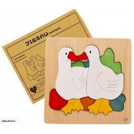 Multi-layer constructive puzzles The Ugly Duckling story H031003