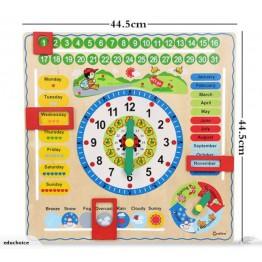 Interactive calendar board