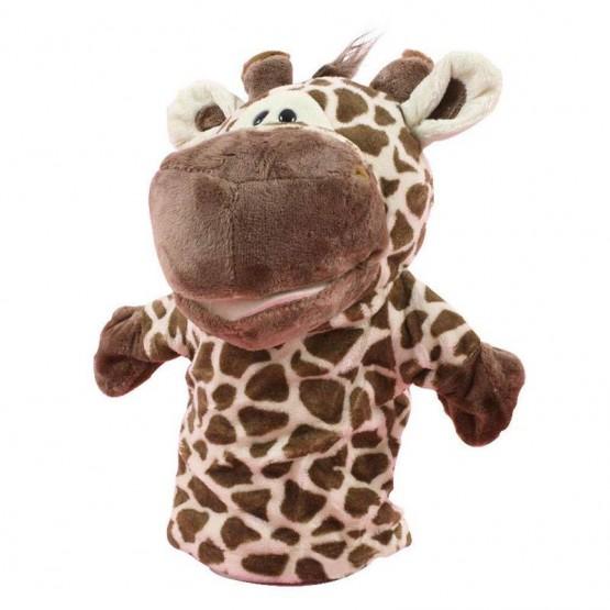 Giraffe hand puppet