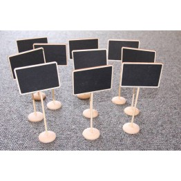 Blackboard stands pack of 10