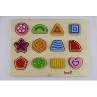 Wooden shape puzzle