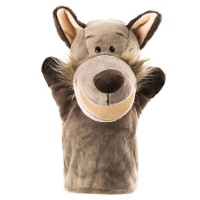 Open-mouth Wolf hand puppet